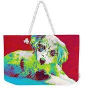 Aussie Puppy Weekender Tote Bag
