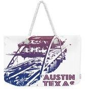 Austin 360 Bridge, Texas Weekender Tote Bag