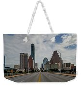 Austin From Congress Street Bridge Weekender Tote Bag