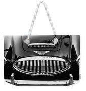Austin Healey 3000mk II Grille - 0161bw Weekender Tote Bag