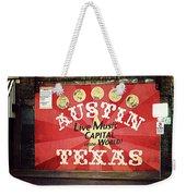 Austin Live Music Weekender Tote Bag