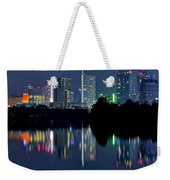 Austin Reflects In Ladybird Lake Weekender Tote Bag