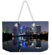 Austin Texas Mirror Image Weekender Tote Bag