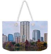 Austin Tower Weekender Tote Bag