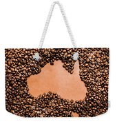 Australia Cafe Artwork Weekender Tote Bag