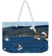 Australia - Seagulls And Trawlers Weekender Tote Bag