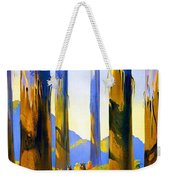 Australia - The Tallest Trees In The British Empire - Marysville, Victoria - Retro Travel Poster Weekender Tote Bag