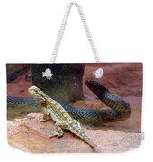 Australia - The Taipan Snake Weekender Tote Bag