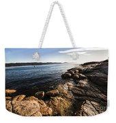 Australian Bay In Eastern Tasmania Weekender Tote Bag