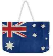 Australian Flag Vintage Retro Style Weekender Tote Bag