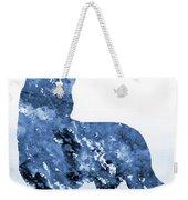 Australian Kelpie-blue Weekender Tote Bag