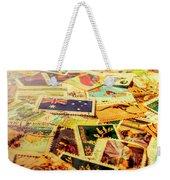 Australian Postal Background Weekender Tote Bag