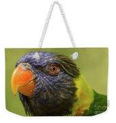 Australian Rainbow Lorikeet Weekender Tote Bag