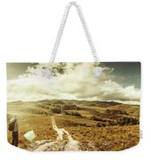 Australian Rural Panoramic Landscape Weekender Tote Bag