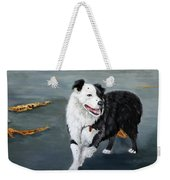 Australian Shepard Border Collie Weekender Tote Bag