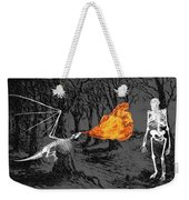 Australopithecus And The Dragon Weekender Tote Bag
