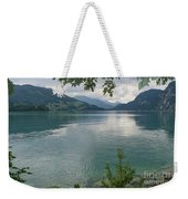 Austrian Lake Weekender Tote Bag