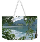 Austrian Lake Through The Trees Weekender Tote Bag