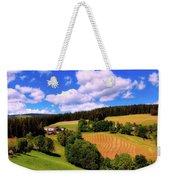 Austrian Rural Forest Vista Weekender Tote Bag