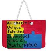 Autism Art Weekender Tote Bag
