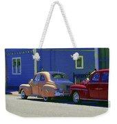 Auto Oldies Weekender Tote Bag