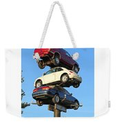 Auto Pile Up Weekender Tote Bag
