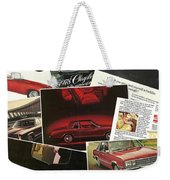Automotive Ad's Collage 2 Weekender Tote Bag