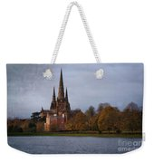 Autumn Lichfield Cathedral Weekender Tote Bag