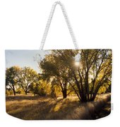 Autum Sunburst Weekender Tote Bag