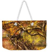 Autumn - Landscape - Country Road Side Weekender Tote Bag
