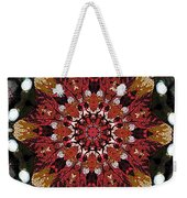 10446 Autumn 01 Kaleidoscope Weekender Tote Bag