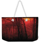 Autumn 2015 Panorama In The Woods Pa 06 Weekender Tote Bag