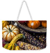 Autumn Abundance Weekender Tote Bag