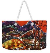 Autumn Adirondack Sunset Weekender Tote Bag by Carol Law Conklin