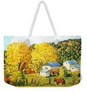 Autumn Afternoon Weekender Tote Bag