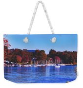 Autumn Along Lake Candlewood - Connecticut Weekender Tote Bag