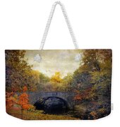 Autumn Ambiance Weekender Tote Bag