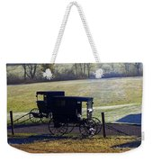 Autumn Amish Horse Buggy Weekender Tote Bag