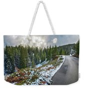 Autumn And Winter In One Weekender Tote Bag