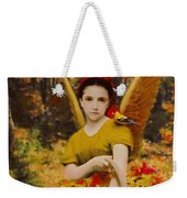 Autumn Angels Weekender Tote Bag