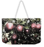 Autumn Apples - Luther Fine Art Weekender Tote Bag