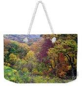 Autumn Arrives In Brown County - D010020 Weekender Tote Bag
