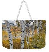 Autumn Aspens 8 Weekender Tote Bag