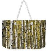 Autumn Aspens Weekender Tote Bag by Adam Romanowicz