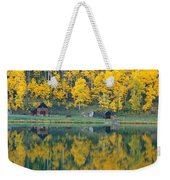 Autumn Aspens Along Route 550, North Weekender Tote Bag