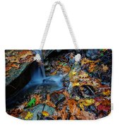 Autumn At A Mountain Stream Weekender Tote Bag by Rick Berk