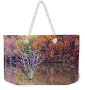 Autumn At Alum Creek Weekender Tote Bag