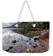 Autumn At Bubble Pond Weekender Tote Bag