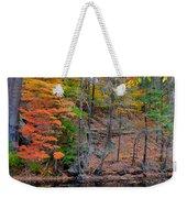 Autumn At Echo Bridge Weekender Tote Bag
