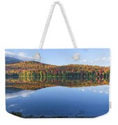 Autumn At Heart Lake Weekender Tote Bag